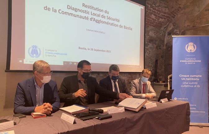 Le conseil intercommunal de sécurité et prévention de la délinquance initié par la communauté d'agglomération de Bastia présentait son diagnostic.