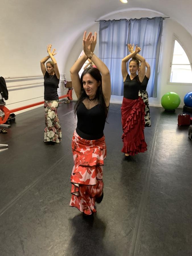 Le flamenco, une gestuelle parfois sensuelle.