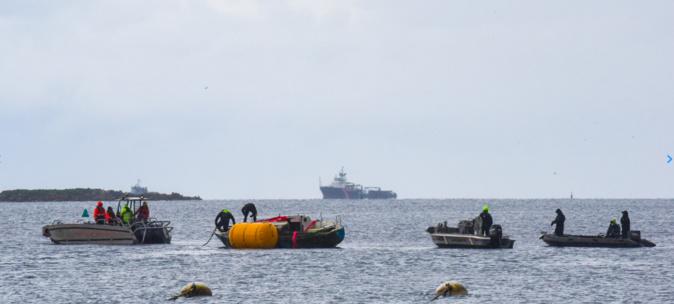 L'opération de mars 2021 - Crédit photo Préfecture maritime de la Méditerranée