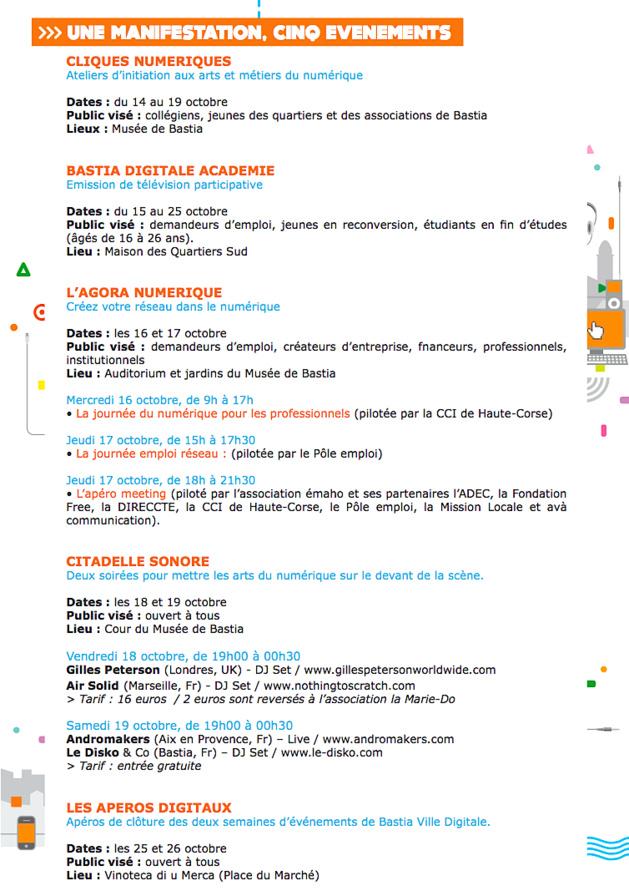 Gilles Peterson à Bastia Ville Digitale