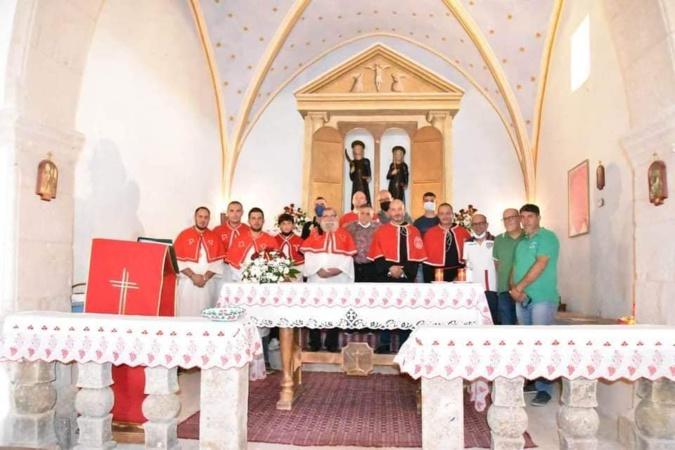 Incendie en Sardaigne : la confrérie de Speluncatu remet un chèque de 5500€ aux Sardes