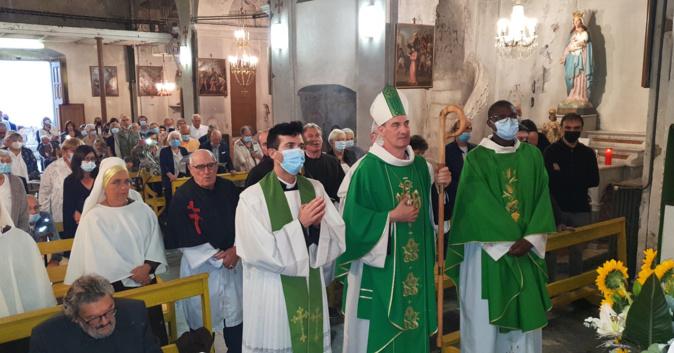Messe d'installation du Père Jean-Claude Doh, Curé des paroisses des unités paroissiales Venaco-Vezzani et Boziu