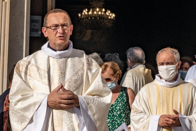 Le père Bertoni, photo Eglise de Corse.