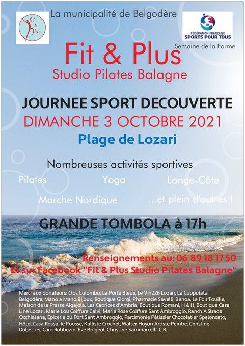 Plage de Lozari : une journée pour découvrir et tester des sports avec Fit & Plus