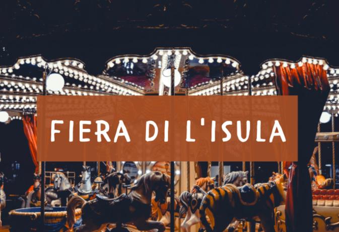 A 192 esima Fiera di Lisula, c'est ce week-end