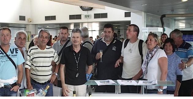 Coup d'envoi du 2ème Open National de Pétanque de Calvi