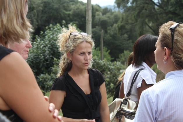Anne Nocera productrice de Safran dans le Pays Ajaccien