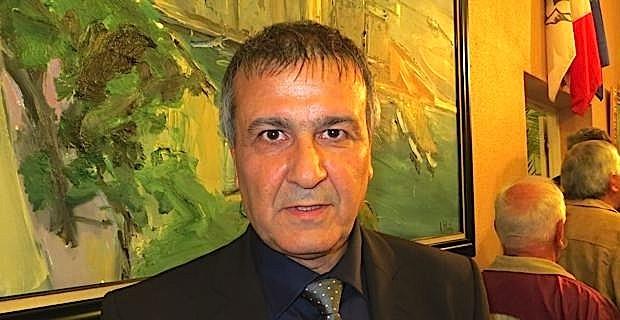 Michel Stefani, conseiller territorial du Front de gauche, président des Chemins de fer de la Corse.