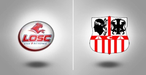 Ligue 1 : Lille trop fort pour l'ACA (0-3)