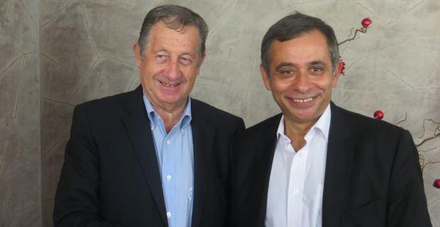 Paul Trojani, président de la CCI2B, et Henri Malosse, président du CESE.