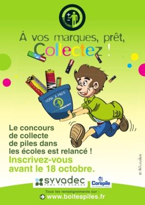Le concours de collecte de piles, édition 2013 : Inscrivez vous !
