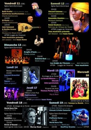 Festival  Nautic & Music à Bonifacio
