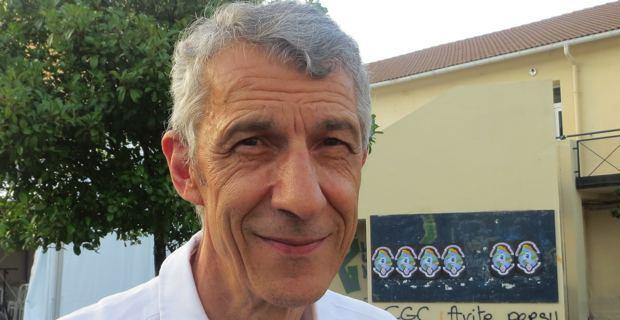 Michel Castellani, professeur d'économie à l'université de Corse, élu territorial de Femu a Corsica, conseiller municipal d'Inseme per Bastia.