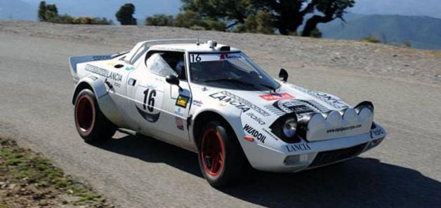 La Lancia Stratos de retour sur les routes de Corse