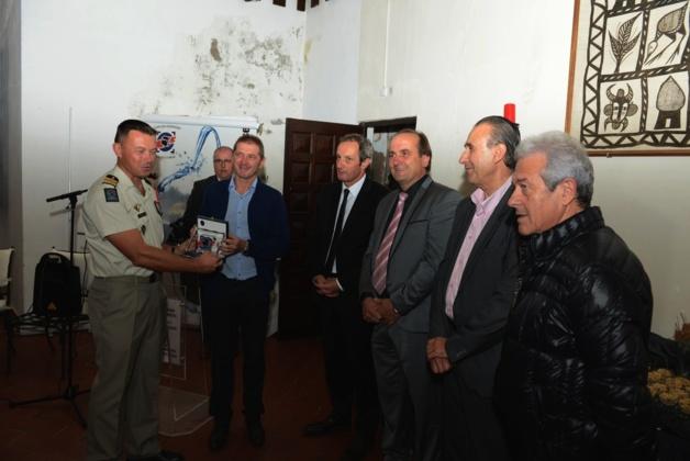 Soirée de fin de campagne du SDIS  à Calvi