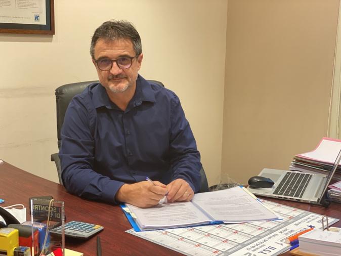 Jean-Charles Leonardi, nouveau conseiller de la Cab en charge des déchets.