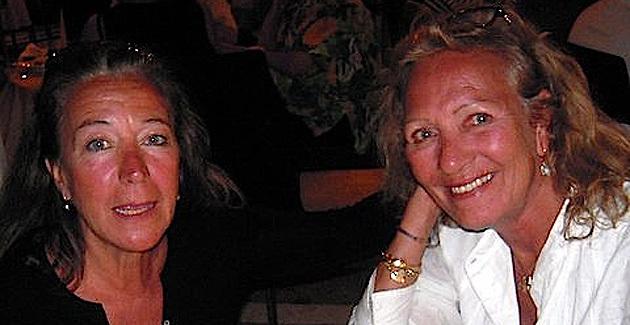 Marie-Odile Desvignes et Annick Peuvergne