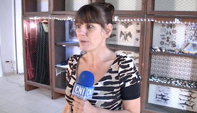VIDEO - Arte Mare : Sylvie Bracconi expose au théâtre de Bastia