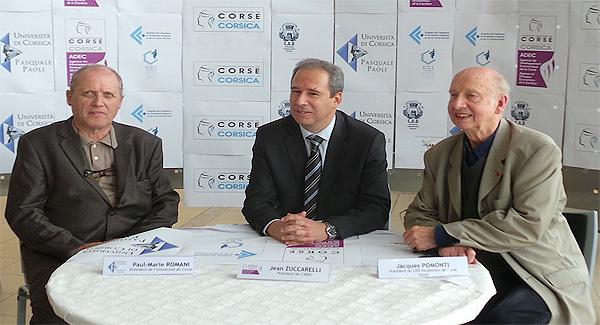 Paul-Marie Romani, Jean Zuccarelli, Jacques Pomonti