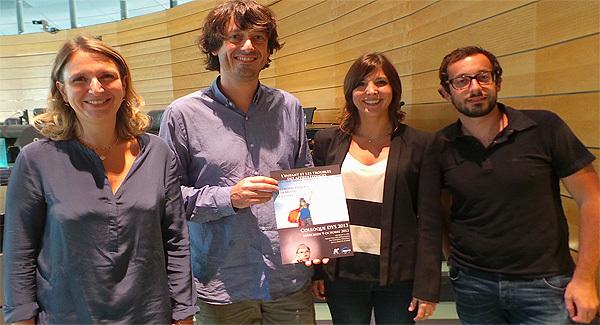 Marie-Pierre Le Gallais (à gauche), médecin-coordonateur à la MDPH, et son équipe