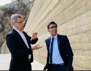 Avec le maire de Bastia, Pierre Savelli.