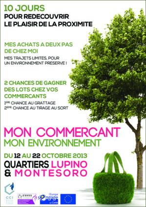 """Bastia : """"Mon commerçant, mon environnement"""" du 12 au 22 octobre"""