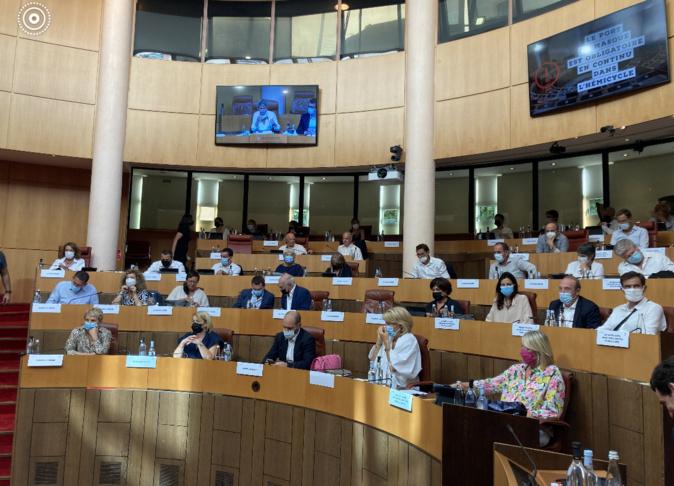 Une session extraordinaire de l'Assemblée de Corse se déroulera, le vendredi 22 octobre 2021 à 14 heures