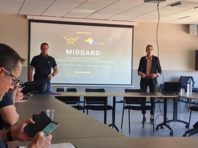Deux  start-up corses - Miloé et Midgard - participent au congrès national des pompiers de Marseille