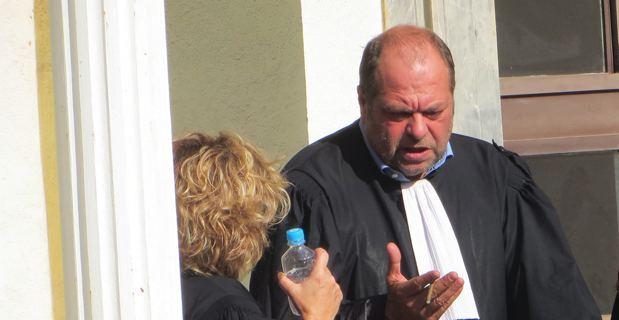 Me Eric Dupont-Moretti, un des avocats de Ghjambattista Villanova.