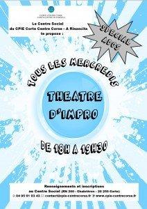 """Corte : Du théâtre """"d'impro"""" special ados !"""