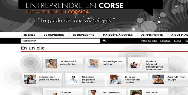 """Adec : Un portail pour """"entreprendre en Corse"""