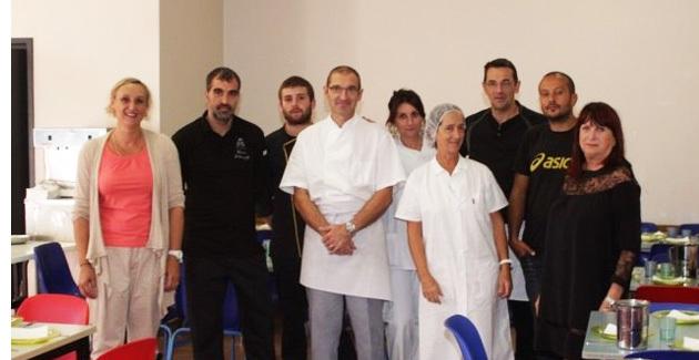 Le chef de La Signoria à la rencontre des enfants des écoles de Calvi