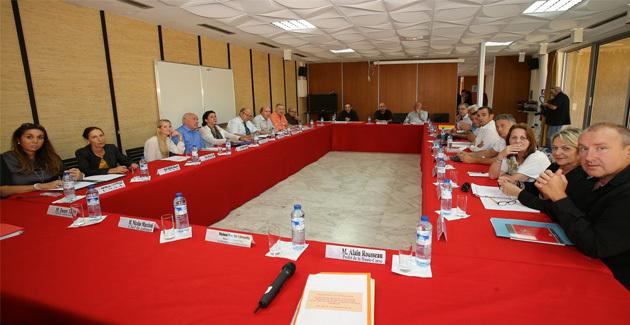 Rencontre à Bastia avec les organisations syndicales représentatives de la fonction publique