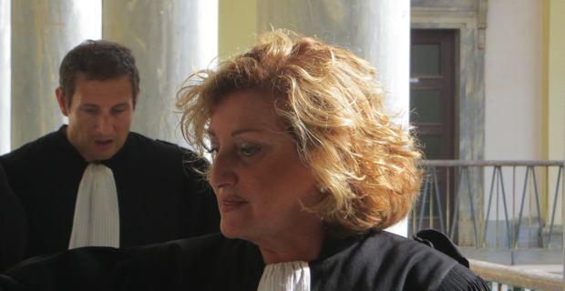 Me Marie-Josée Bellagamba et Me Jean-Sébastien De Casalta, avocats de la défense.