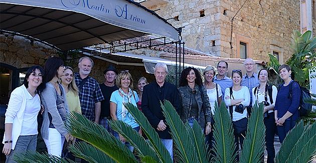 Journalistes belges à la découverte de la Balagne et de la Haute-Corse