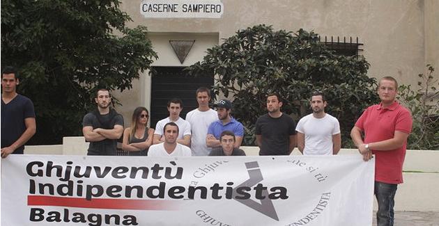 Calvi : Ghjuventù Indipendentista demande le départ du 2eme Rep et de l'armée