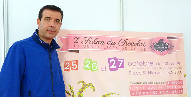 "Paul Pierinelli : ""Le Salon du chocolat de Bastia va s'exporter"""