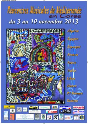 Rencontres musicales de Méditerranée : Du 3 au 10 novembre