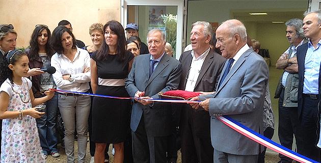 Ajaccio : Inauguration du nouveau centre social des Salines