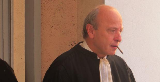 Me Dominique Mattei, ex-bâtonnier de Marseille, avocat de la partie civile.