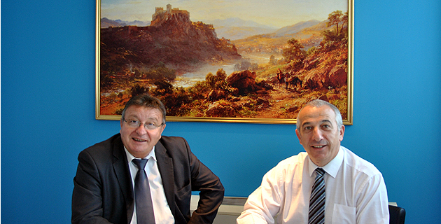 Philippe Maroselli et Pierre Ghionga