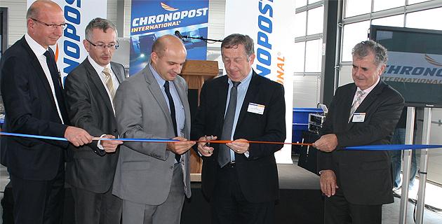 Chronopost a inauguré sa nouvelle agence de Lucciana