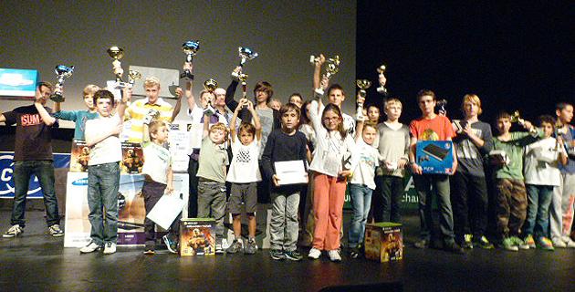 Corsican Circuit 2013 : Maîtres et Grands maîtres réunis au palais des congrès d'Ajaccio