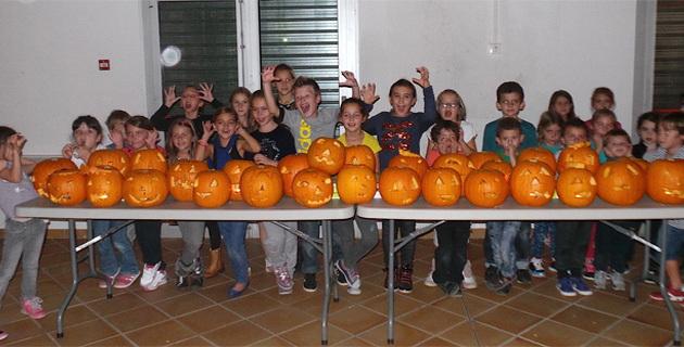 Santa Maria Lota prépare Halloween