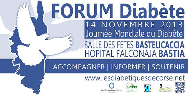 Journée mondiale du diabète : Des monuments de Corse illuminés en bleu ?