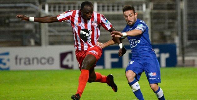 Face à Bastia en Coupe de la Ligue, Dennis Oliech a manqué l'occasion du 1-1 face à Landreau. Symptomatique du manque de réussite Ajaccien.