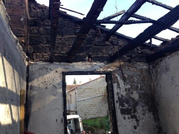 Aullène : Violent incendie en plein cœur du village