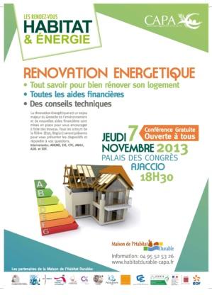 Ajaccio : Les 9e RDV de l'habitat et de l'énergie