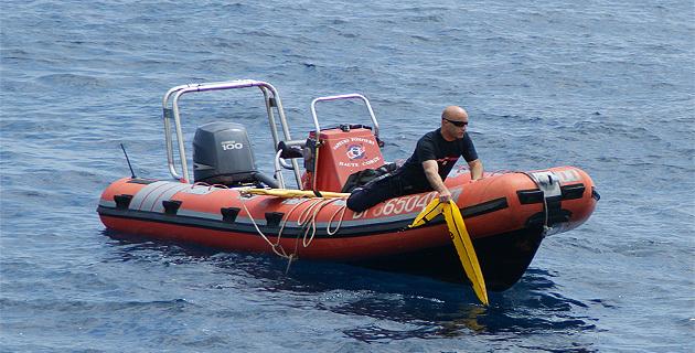 C'est le bateau qui a été à Saint-Florent
