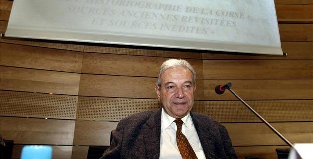 Francis Beretti, président de la société historique et naturelles de la Corse
